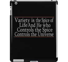 Variety Is The Spice iPad Case/Skin