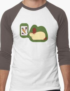 Rabbit Wishes - Carrots Men's Baseball ¾ T-Shirt