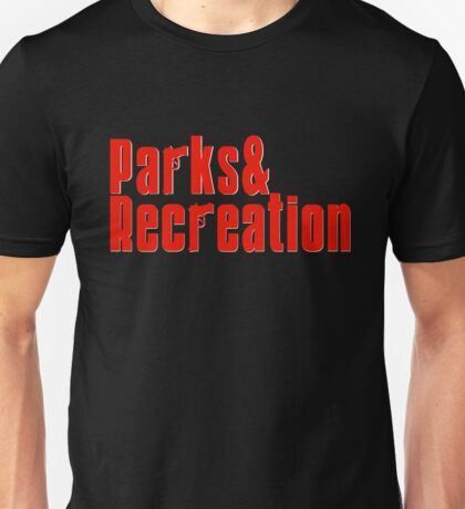 Parks and Recreation - mobster Unisex T-Shirt