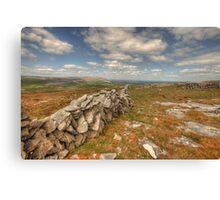 Beautiful Burren View Canvas Print