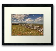 Burren Walls Framed Print