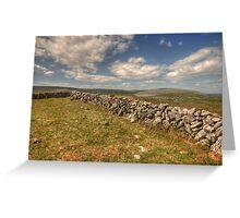 Burren Walls Greeting Card