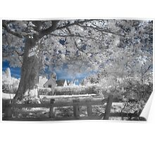 Dream Cottage 2 - Infrared Poster
