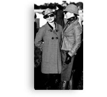 The Tweed Twins Canvas Print