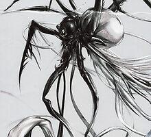 Spidery Shoggoth by Lorinda Tomko