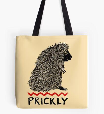Prickly Porcupine Tote Bag