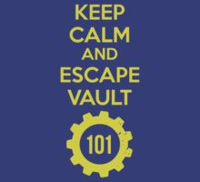Keep Calm Vault 101 by ringeth