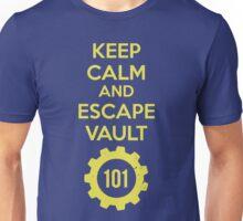 Keep Calm Vault 101 Unisex T-Shirt