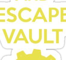 Keep Calm Vault 101 Sticker