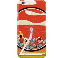 Road Cycle Racing on Hamster Power iPhone Case/Skin