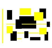 Rectangular Pattern 12  Photographic Print