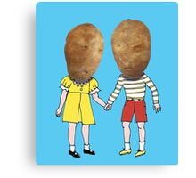small potatoes Canvas Print