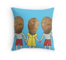 small potatoes Throw Pillow