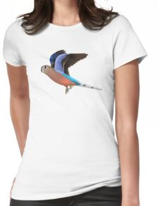 Birding and Wildlife: Bourkes Parrot Womens Fitted T-Shirt