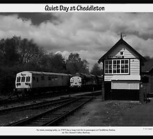 Quiet Day at Cheddleton by David J Knight