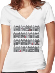 this is england Women's Fitted V-Neck T-Shirt