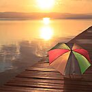 No need for the brolly_Long Jetty by Sharon Kavanagh