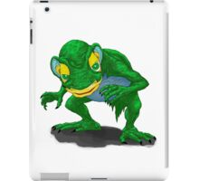 Gollum is here! iPad Case/Skin