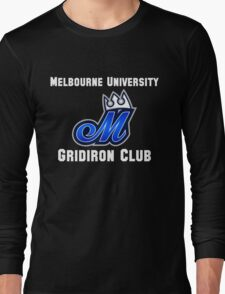 Melbourne University Gridiron Club Long Sleeve T-Shirt