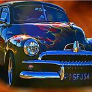 Flaming Holden by Kym Howard