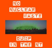 No Nuke Dump in the NT: Block Kids Clothes