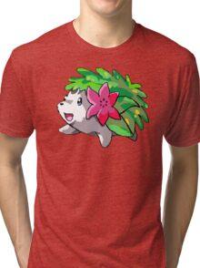 Happy Shaymin Tri-blend T-Shirt