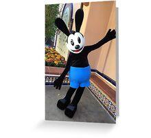 Oswald Greeting Card