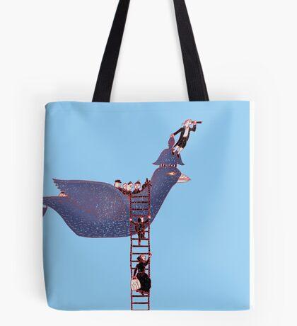 Bird Rescue Boat Tote Bag