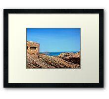 Fort Raz - Alderney Framed Print