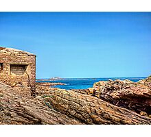 Fort Raz - Alderney Photographic Print