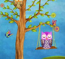Owls & Dreams by AnaCBStudio