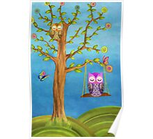 Owls & Dreams Poster