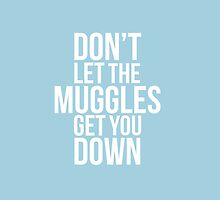 Don't let the Muggles get you down - White by steffirae