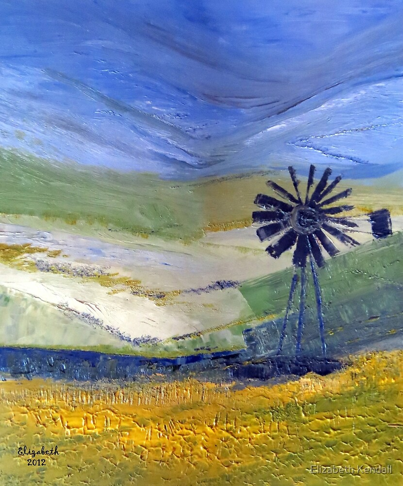 Canola in oil.  by Elizabeth Kendall