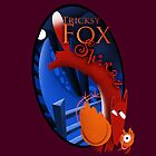 Wine label design for Tricksy Fox Shiraz by Phil  Brown
