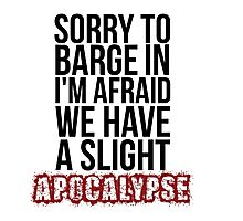 A Slight Apocalypse - Rupert Giles BTVS Photographic Print