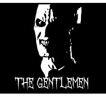 The Gentlemen Silhouette - BTVS Photographic Print