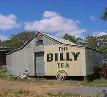 Billy Tea sign at Marulan, NE Victoria by BronReid