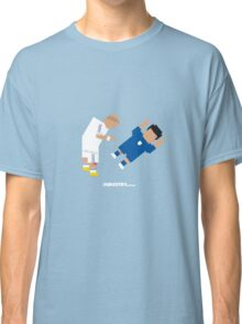 Foot-T 'On me chest son' Classic T-Shirt