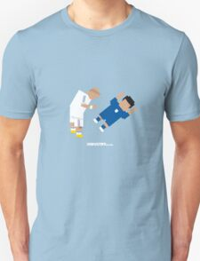 Foot-T 'On me chest son' T-Shirt