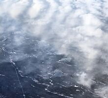Cloud Over The Tundra, Manitoba. by Carole-Anne