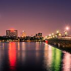 Harvard Bridge, Boston MA by LudaNayvelt