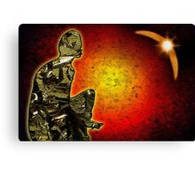 Science Fiction inspired art Canvas Print