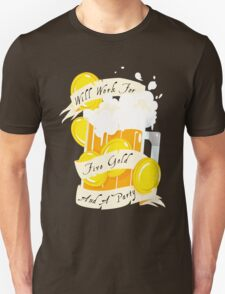 Five Gold and a Party  Unisex T-Shirt