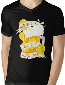 Five Gold and a Party  Mens V-Neck T-Shirt