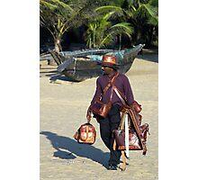 Beach seller - Negombo, Sri Lanka (2008) Photographic Print