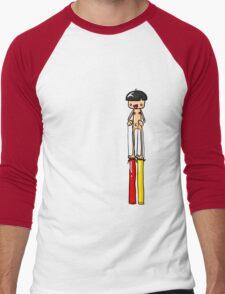 Ned is REALLY Tall Men's Baseball ¾ T-Shirt