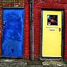 Double doors by purposemaker909