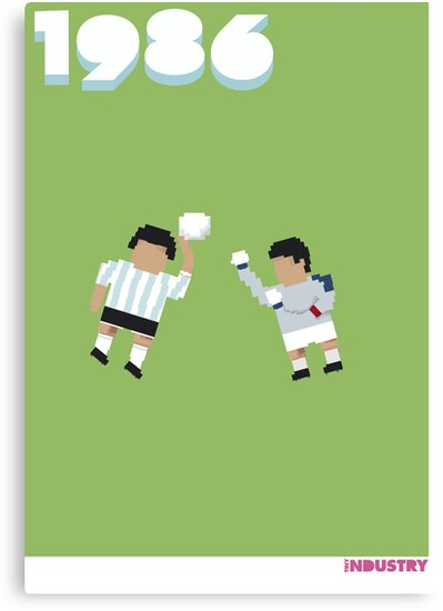 Foot-T poster 'Hand Of God' by tinyindustry