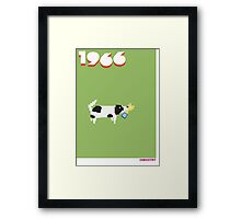 Foot-T poster 'Pickles' Framed Print